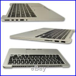 MacBook Pro 13 Retina A1502 2013 2014 DE Topcase Handauflage mit Tastatur