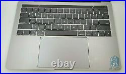 MacBook Pro 13 with Touch Bar Top Case, Space Gray A1706 2016 2017 (661-07950)A
