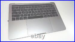 MacBook Pro 13 with Touch Bar Top Case with Battery, Space Gray, Late 2016 / Mi P2