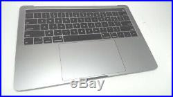 MacBook Pro 13 with Touch Bar Top Case with Keyboard & Battery, Space Gray, 2TB P1