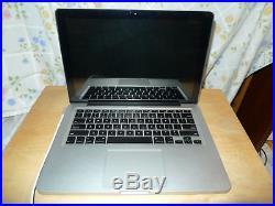 MacBook Pro 13inch, Late 2011, i5 2.4 GHz, 8GB RAM, 500GB HD and Case Bundle