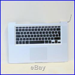 MacBook Pro 15 A1286 Palmrest Topcase Touchpad Tastatur QWERTZ 069-6153-10 2011