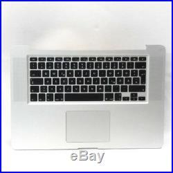 MacBook Pro 15 A1286 Palmrest Topcase Trackpad Tastatur QWERTZ DE 069-6153-B