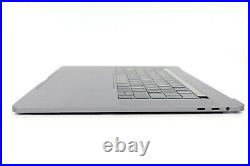 MacBook Pro 15 A1707 2016 2017 Top Case Keyboard Trackpad Touch Bar Space Grey