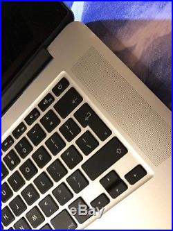 MacBook Pro 15 Retina 2.5ghz i7 512GB 16GB MJLT2B/A Case & Shell Bundle 2015