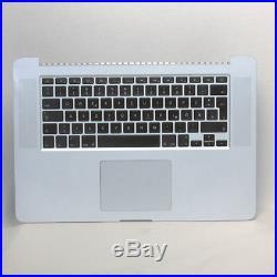 MacBook Pro 15 Retina A1398 Palmrest Topcase Trackpad Tastatur QWERTZ 2012 2013
