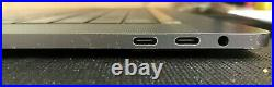 MacBook Pro 15 Top Case Battery Keyboard Trackpad touch bar Space Grey A1707