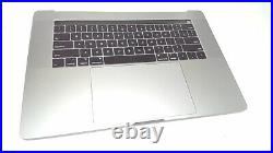 MacBook Pro 15 with Touch Bar Top Case with Battery, Space Gray, Mid 2018/2019 P1