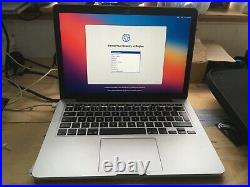 MacBook Pro 2015 Retina 13.3 128gb ssd 8gb ram with charger + case bundle