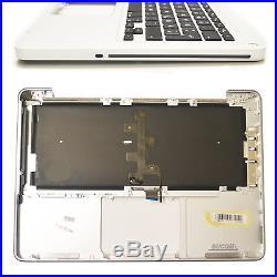 MacBook Pro A1278 2011 2012 DE Topcase Handauflage Palmrest mit Backlight