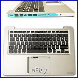 MacBook Pro A1278 2011 2012 DE Topcase Handauflage Palmrest mit Tastatur Backlig
