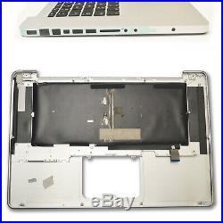 MacBook Pro A1286 Topcase Handauflage Tastatur mit Backlight Palmrest 2009- 2012