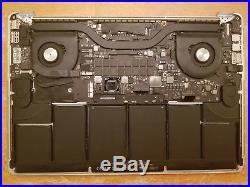 MacBook Pro A1398 15 Early 2013 2.8GHz i7 16GB Top Case + Logic Board + Battery