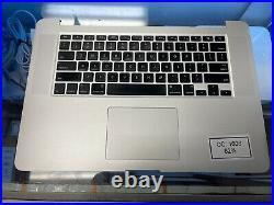 MacBook Pro A1398 15 Mid 2015 MJLQ2LL/A MJLT2LL/A Top Case 661-02536