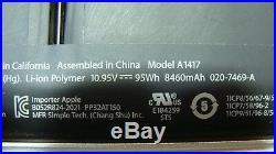 MacBook Pro A1398 MC975LL/A Mid 2012 15 Genuine Top Case withBattery 661-6532