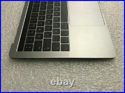 MacBook Pro A1706 13 Mid 2017 Space Gray Top Case T-BAR UK (British) Eng Layout