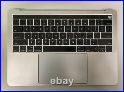 MacBook Pro A1706 2016-2017 13 Space Gray Top Case +Battery 661-05333