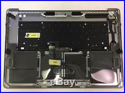 MacBook Pro A1707 15 2016 2017 Top Case Battery Keyboard Trackpad touch bar A+