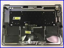 MacBook Pro A1707 15 2016 2017 Top Case Battery Keyboard Trackpad touchbar Gray