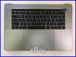 MacBook Pro A1707 15 2016 Top Case Battery Keyboard Trackpad touchbar Gray
