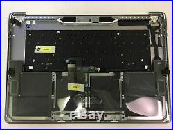 MacBook Pro A1707 15 Top Case Battery Keyboard Palmrest touch bar A1820