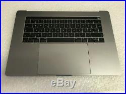 MacBook Pro A1707 15 Top Case Keyboard T-Bar 2016 2017 German Layout