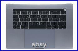 MacBook Pro A1707 15 Topcase 2016 2017 Akku Tastatur Trackpad Touchbar ink MwSt
