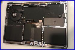 MacBook Pro A1708 MPXQ2LL/A 2016 2017 13 Palm Top Case 661-079 7727 Silver