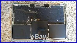 MacBook Pro A1708 MPXQ2LL/A 2016 2017 13 Top Case palmrest Gray 07946 A- Grade