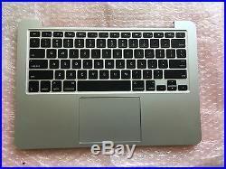 """MacBook Pro Retina 13/"""" A1502 Top Case w//US Keyboard /& Keyboard Backlight 2015"""