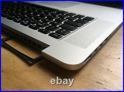 MacBook Pro Retina 15 A1398 (2015) Top Case Palmrest Keyboard & Batt Grade A