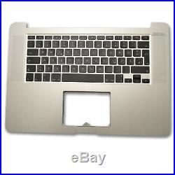MacBook Pro Retina 15 A1398 DE Topcase Handauflage Tastatur Beleuchtet 2013-14