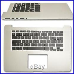 MacBook Pro Retina 15 A1398 DE Topcase Handauflage Tastatur mit Backlight 2015