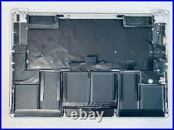 MacBook Pro Retina 15 A1398 Late 2013 2014 Palmrest Keyboard Top Case + Battery