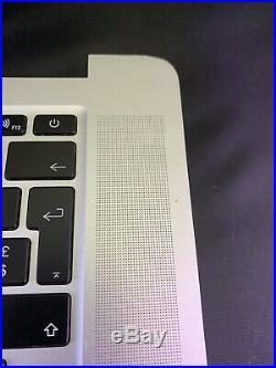 MacBook Pro Retina 15 A1398 Mid 2015 Top Case with E. U Keyboard Trackpad (READ)