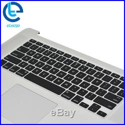 MacBook Pro Retina A1398 Top Case Keyboard backlit + Trackpad 15 Late 2013