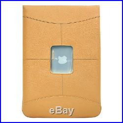 MacCase Premium Leather15 MacBook Pro Sleeve Black Electronic Case NEW