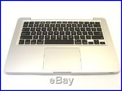 Macbook PRO 13 Unibody A1278 2010 Top Case Palmrest Backlit Keyboard Trackpad A