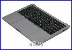 Macbook Pro 13 2016 A1706 Gray Top Case Keyboard Battery A1819 Trackpad Grade A