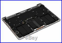 Macbook Pro 13 2016 A1706 Silver Top Case Keyboard Battery A1819 Trackpad A+