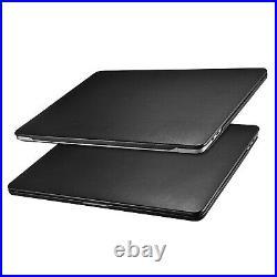 Macbook Pro 13 2020 Case, ICARER Premium Leather Utra Slim Protective Book Ca
