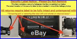 Macbook Pro 13 A1278 2011 2012 Top Case Keyboard Trackpad MD101LL/A MD102LL/A