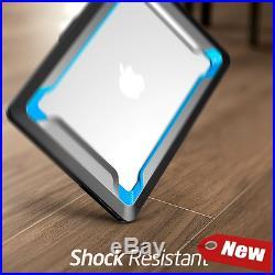 Macbook Pro 13 Case, NexCase Heavy Duty Slim Rubberized Snap on Dual Layer