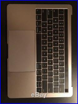 Macbook Pro 13 Touch Bar 2017 Gray top case assembly -Cables Speakers