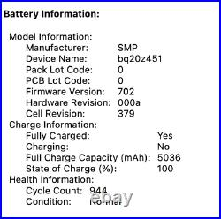 Macbook Pro 13-inch Retina 2.6Ghz Intel i516GB RAM 128GB HD 64GB SD Case Bundle
