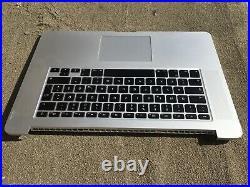 Macbook Pro 15 A1398 Top Upper Case Gehäuse Tastatur Mid 2014