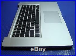 Macbook Pro A1286 15.6 2012 MD103LL/A OEM Palmrest Top Case Keyboard 661-6509