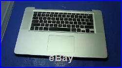Macbook Pro A1286 MC118LL/A Mid 2009 15 Top Case withKeyboard Trackpad 661-5244