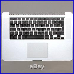 Macbook Pro A1398 15 Retina TopCase Touchpad Akku Tastatur QWERTZ Late 2013 2014