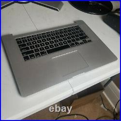Macbook Pro Retina 15 A1398 Mid 2015 Top Case Palmrest with Keyboard 661-02536 A